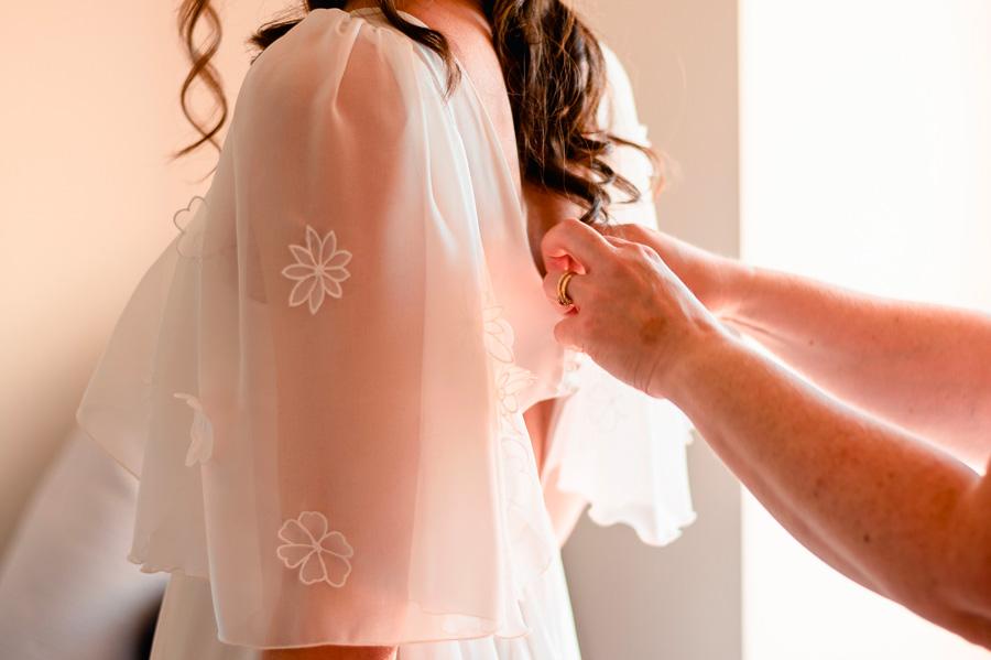 Préparatifs Robe Mariée