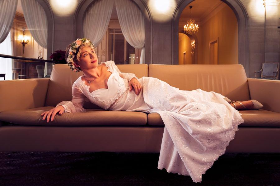 Robe de mariée décolleté